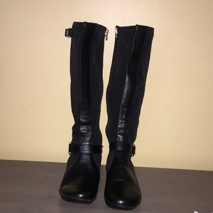 Etienne Aigner stretch boot